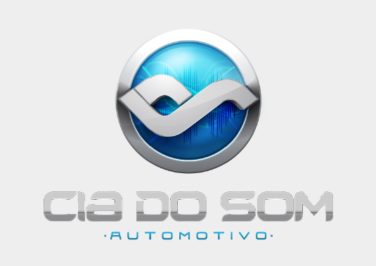 Desenvolvimento de Logotipo Cia do Som Automotivo