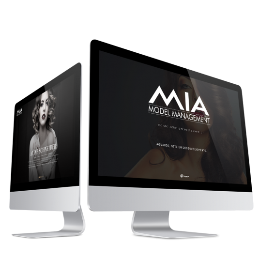 Desenvolvimento de Website Mia Model Management
